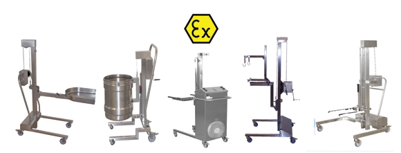 ATEX Stacker's & Lifting Equipment