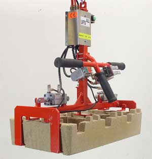 Carton Box Lifting With Vacuum & Mechanical Grippers