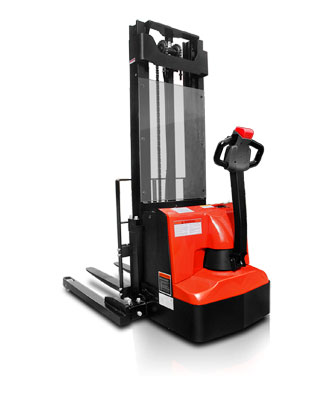 LS ES12-25WA Electric Straddle Stacker