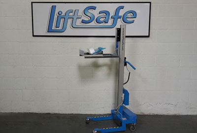 Lift Safe Supplies Large Packaging Specialist Company With Custom Built Electric Lifter