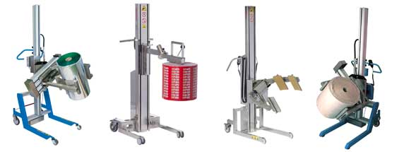 Reel - Roll Lifting Applications