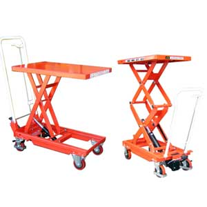 Mobile Hydraulic Scissor Tables