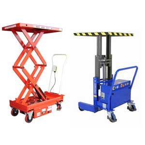 Mobile Semi Electric Scissor Tables