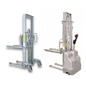 Stainless Steel Stackers & Counterbalance Stackers